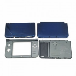 CARCASA ORIGINAL NINTENDO NEW 3DS XL AZUL OSCURO