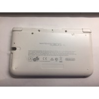 CARCASA INFERIOR ORIGINAL BLANCA NINTENDO 3DS XL