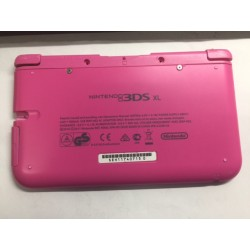 CARCASA INFERIOR ORIGINAL ROSA NINTENDO 3DS XL