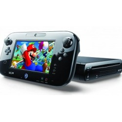 WII U Negra 32Gb + GAMEPAD