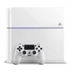 PlayStation 4 500GB BLANCA + Mando Seminueva