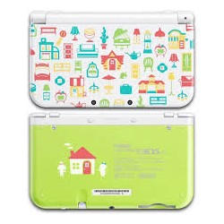 NEW 3DS XL BLANCA ANIMAL CROSSING SEMINUEVA