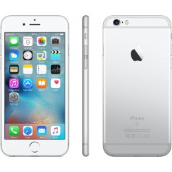 IPHONE 6 128GB A1586 PLATA SEMINUEVO GRADO C