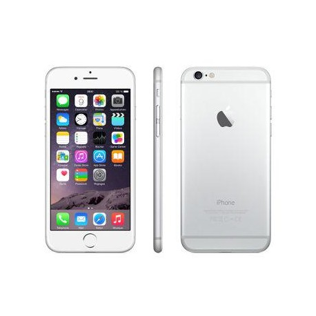 IPHONE 6 16GB A1586 PLATA SEMINUEVO GRADO B
