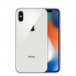 IPHONE X 64GB A1901 PLATA SEMINUEVO GRADO A