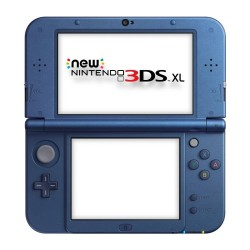 New 3DS XL Azul Grado C