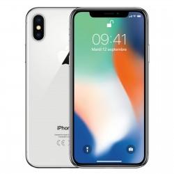 iPhone X 256GB A1901 Silver SEMINUEVO Muy Bueno