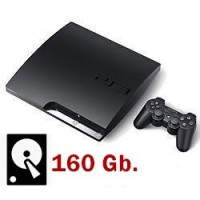 PS3 Slim 160GB SEGUNDAMANO