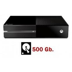 XBOX ONE 500GB SEMINUEVA