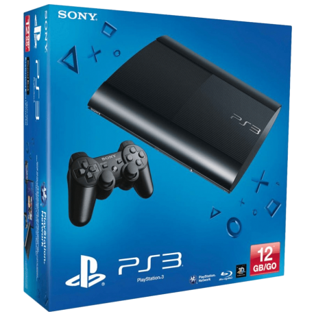 PS3 12gb Super Slim Segundamano