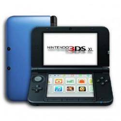 3DS XL AZUL Y NEGRO SEMINUEVA