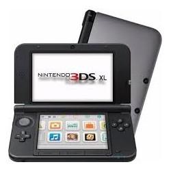 3DS XL GRIS Y NEGRO SEMINUEVA