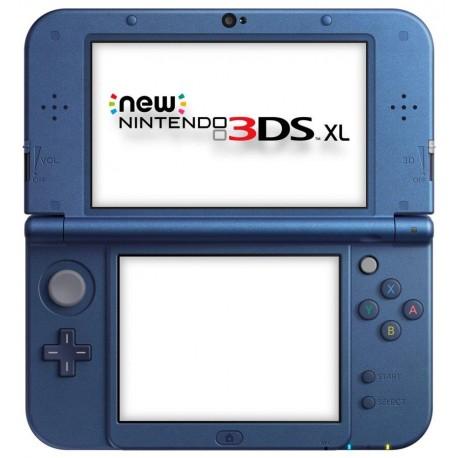3DS XL AZUL Y NEGRO SEGUNDAMANO
