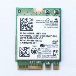 MODULO WIFI INTEL AC 3160 3160NGW